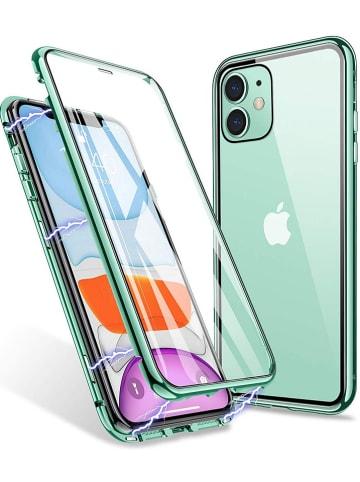 Evetane Full-Body-Case für iPhone 11 in Mint/ Transparent