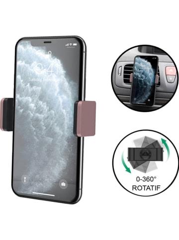 Evetane Autoventilatierooster-smartphonehouder lichtroze