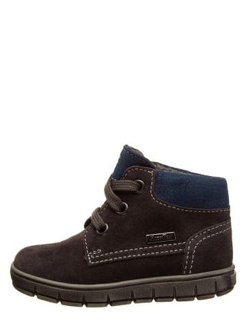Richter Shoes Leder-Sneakers in Anthrazit