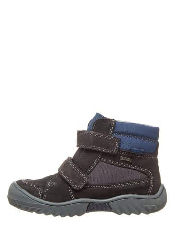 Richter Shoes Boots in Grau/ Blau