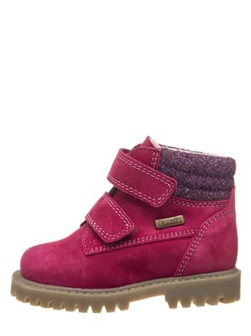 Richter Shoes Leren boots roze