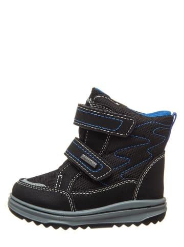 Richter Shoes Botki w kolorze czarno-niebieskim