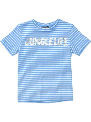 ATTENTION Koszulka w kolorze niebieskim