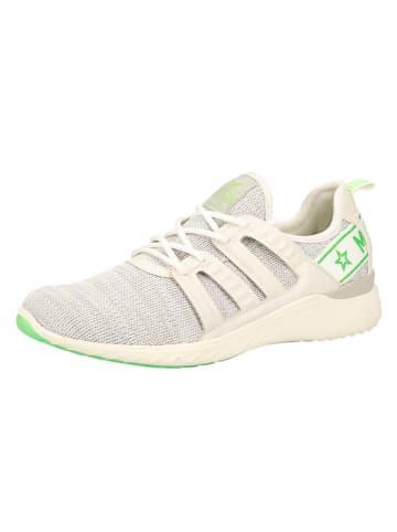 MUSTANG SHOES Sneakers in Hellgrau/ Creme