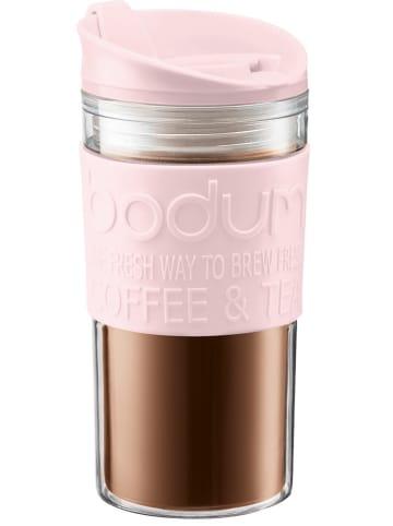 """Bodum Isoleerbeker """"Travel Mug"""" lichtroze - 350 ml"""