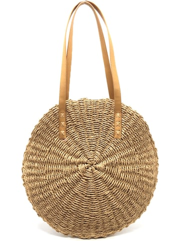 All For Summer Schultertasche in Camel - (B)36 x (H)41 cm