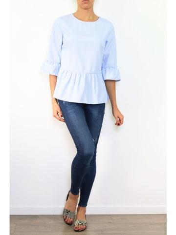 Ella Paris Bluzka w kolorze błękitnym