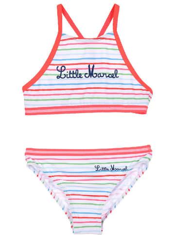 Little Marcel Bikini in Weiß/ Bunt