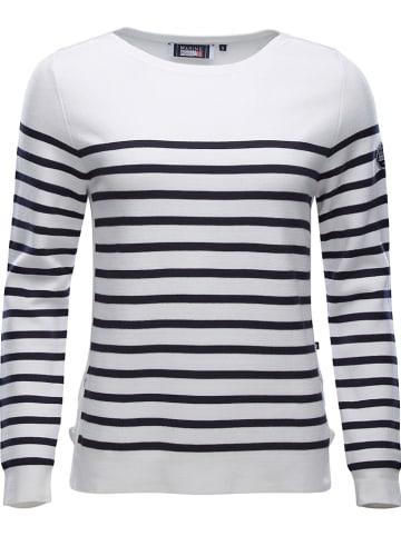 MARINEPOOL Pullover in Weiß