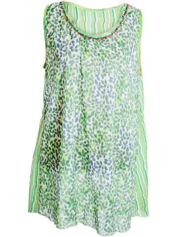 SIGRIS Moda Sukienka w kolorze jasnozielonym