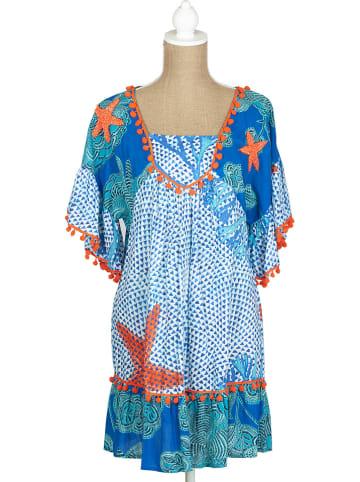 SIGRIS Moda Kleid in Blau