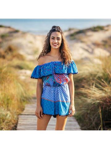 SIGRIS Moda Sukienka w kolorze niebieskim