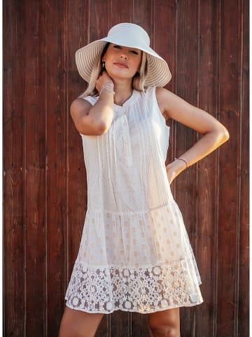 SIGRIS Moda Kleid in Weiß