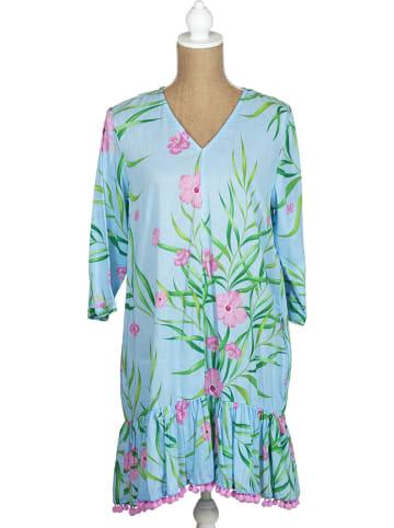 SIGRIS Moda Sukienka w kolorze błękitno-jasnoróżowym