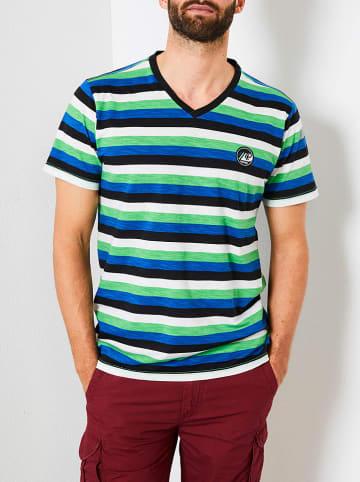 Petrol Industries Shirt groen/blauw