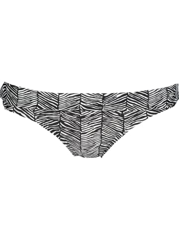 Venice Beach Bikinislip zwart/wit