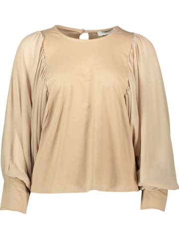 Miss Giovanni Bluse in Beige