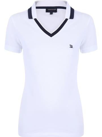 GIORGIO DI MARE Koszulka polo w kolorze białym