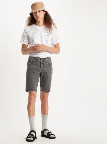 Levi´s Szorty dżinsowe - Slim - w kolorze szarym