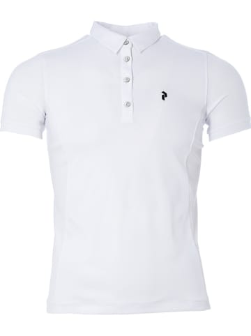 "Peak Performance Polotrainingsshirt ""Alta"" wit"