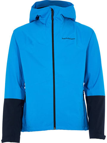"Peak Performance Functionele jas ""Nightbreak"" blauw"