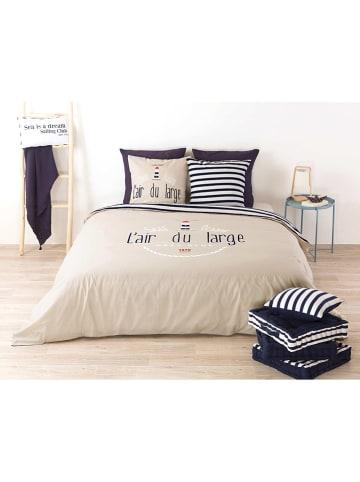 "My Home Beddengoedset ""Air"" beige/blauw"