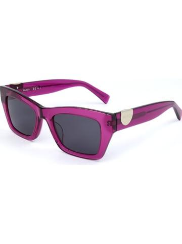 MAX & CO Damskie okulary przeciwsłoneczne w kolorze fioletowo-czarnym