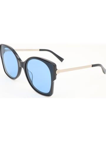 MAX & CO Damen-Sonnenbrille in Dunkelblau-Silber/ Blau