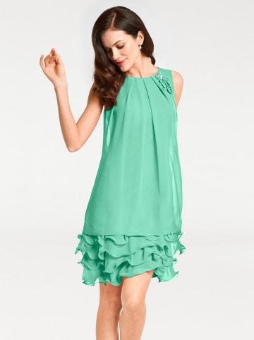 Heine Sukienka w kolorze turkusowym