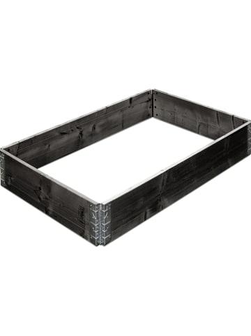 Gartenfreude Verhoogd moestuinbak zwart - (B)120 x (H)19,5 x (D)80 cm