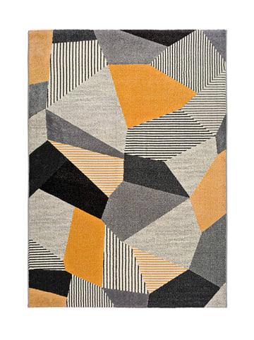 Atticgo Laagpolig tapijt grijs/meerkleurig