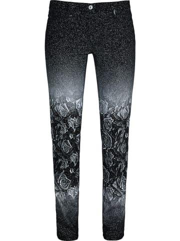 Million X Spodnie w kolorze czarnym