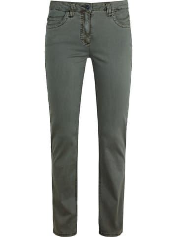Million X Spodnie w kolorze khaki