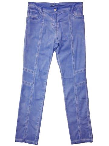 Million X Spodnie w kolorze niebieskim