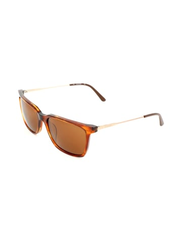 Calvin Klein Herren-Sonnenbrille in Braun-Orange