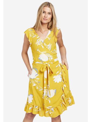 """Khujo Sukienka """"Emery"""" w kolorze żółtym"""