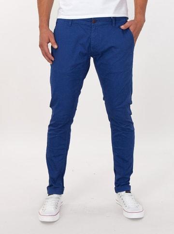 Lee Cooper Spodnie w kolorze niebieskim