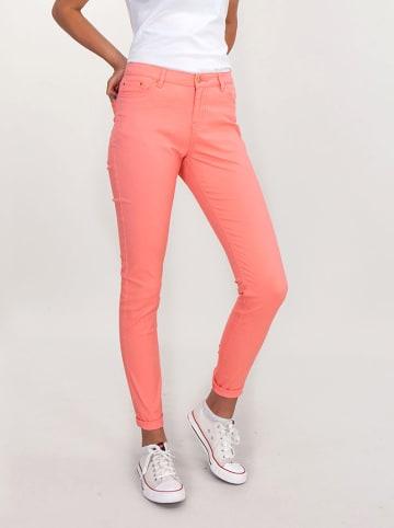 Lee Cooper Spodnie w kolorze brzoskwiniowym