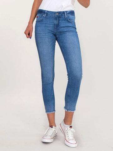 Lee Cooper Dżinsy w kolorze niebieskim