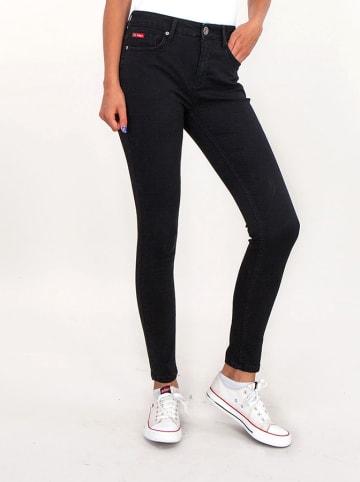 Lee Cooper Dżinsy w kolorze czarnym