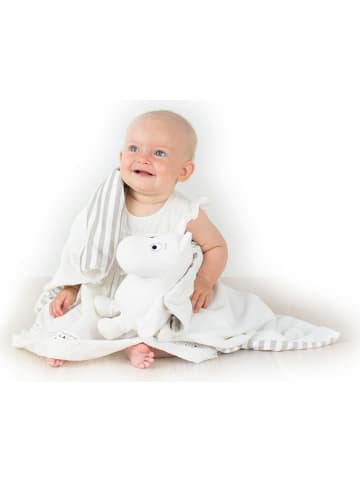 """Rätt Start Kocyk """"Moomin"""" w kolorze białym - 70 x 70 cm"""