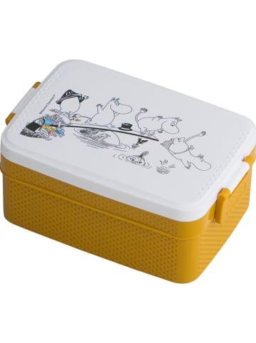"""Rätt Start Pojemnik """"Moomin"""" w kolorze żółtym na lunch - 18,5 x 8 x 12 cm"""