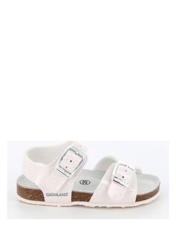 Grünland Sandalen wit