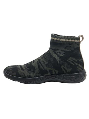 """Hummel Sneakersy """"Terrafly"""" w kolorze czarno-oliwkowym"""