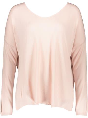 Garden Party Sweter w kolorze jasnoróżowym