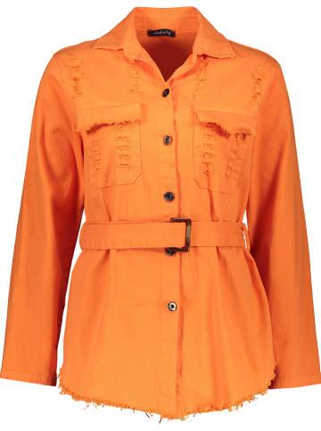 Garden Party Bluse in Orange