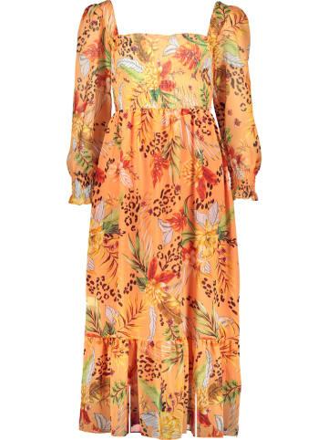Garden Party Maxi-jurk oranje