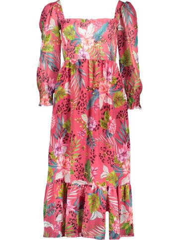 Garden Party Maxi-jurk roze