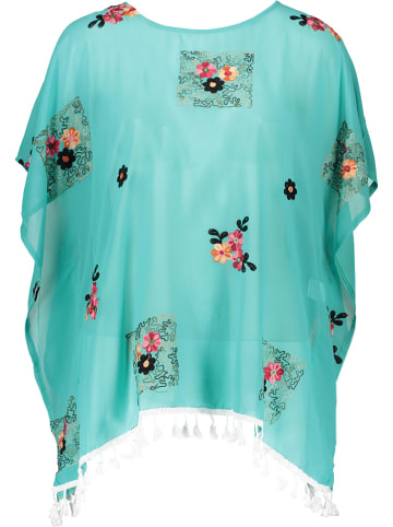All For Summer Tuniek turquoise/meerkleurig