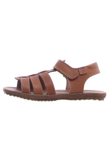 Naturino Skórzane sandały w kolorze brązowym